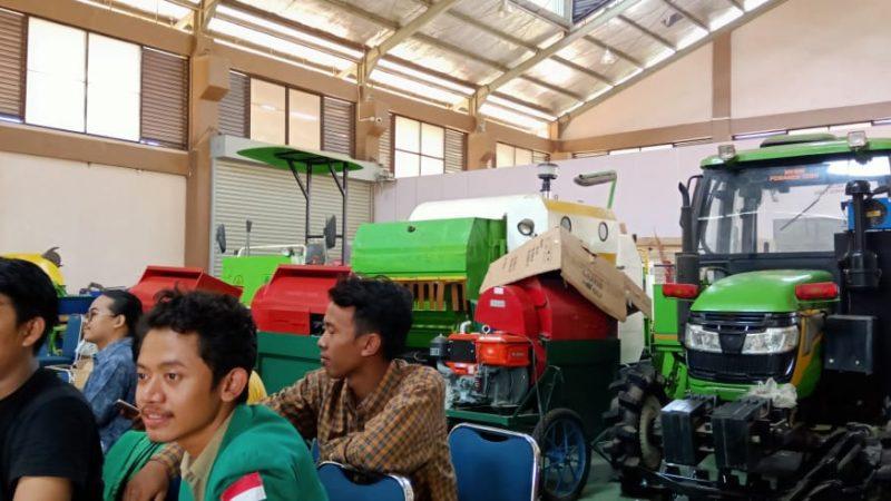 Belajar Mekanisasi Pertanian,  Mahasiswa FTan UMJ Kunjungi BB Pengembangan Mekanisasi