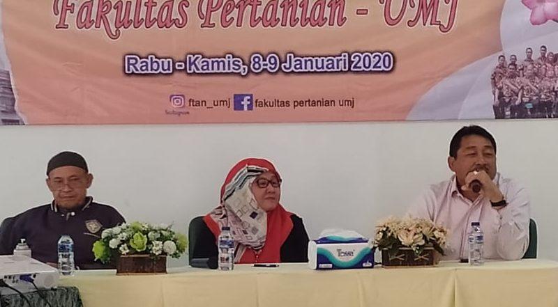 FTan UMJ Gelar Rapat Kerja, Rektor Dorong Dosen Aktif Menulis