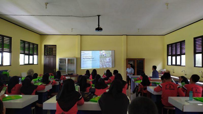 FTan UMJ Goes to School: Promosi di SMKN 2 Sepatan