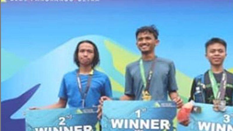 Mahasiswa FTan UMJ Menyabet Juara 1 25K Gede Pangrango 100 Ultra