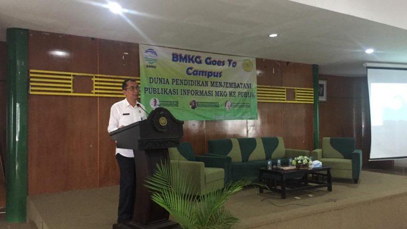 BMKG Goes to Campus & Penandatanganan Kerja Sama 2018