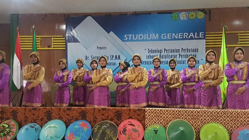"""Studium General """"Teknologi Pertanian Perkotaan sebagai Katalisator Perubahan Menuju Indonesia Berdaulat Pangan"""""""