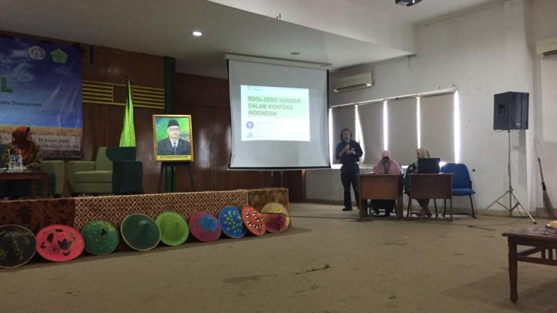 """Seminar Nasional """"Analisa Kritis Konsep Zero Hunger pada Agenda Sustainable Development Goals (SDGs). Menguntungkan atau Merugikan Petani?"""""""