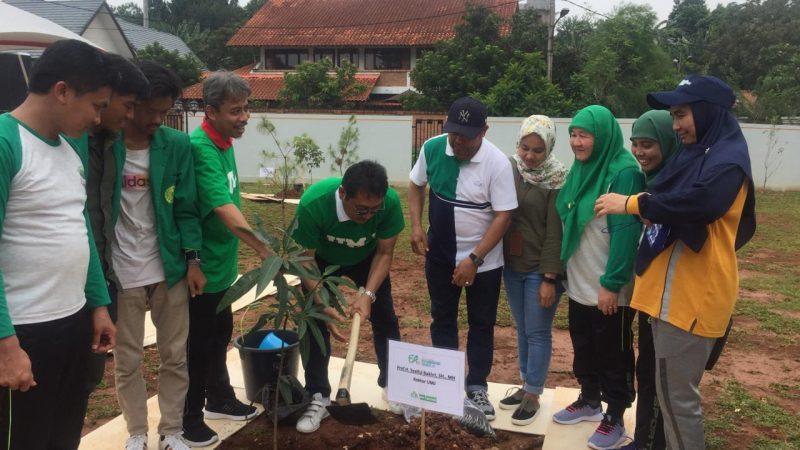 Penanaman 1000 pohon dalam rangka MILAD ke-64 UMJ 2019