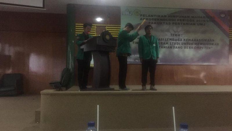 Pelantikan BEM Periode 2019/2020 Fakultas Pertanian